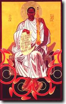 John Coltrane sur son trône