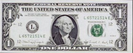 Billet de 1 dollar US