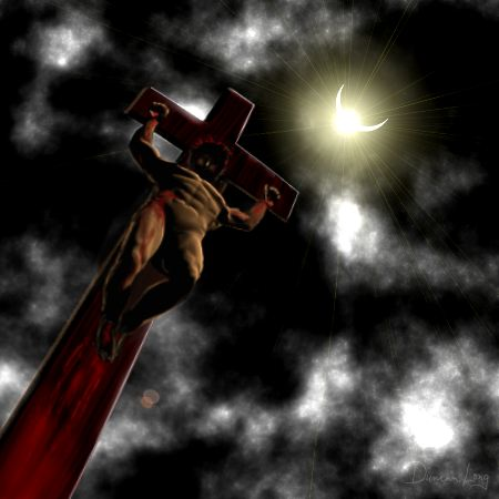 Scène de crucifixion