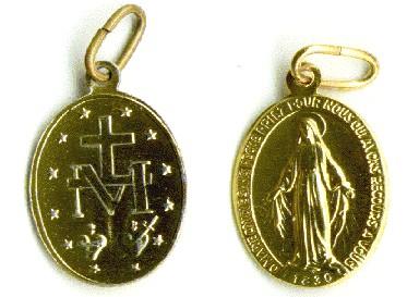 "Médaille ""miraculeuse"""