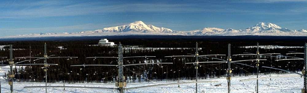 Antenne du Haarp en Alaska