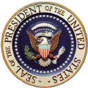 US president's seal