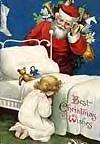 Prière d'enfant pour le père Noël