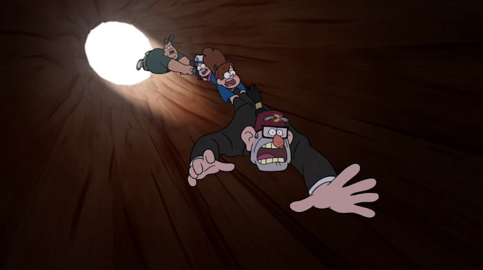 "Episode ""Bottomless Pit"" de la série ""Gravity Falls"""