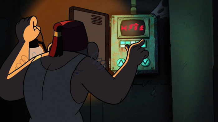 "Stan dans son laboratoire secret  Capture d'écran: série ""Gravity Falls"" sur Disney channel 411"