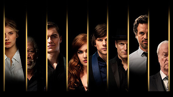 "Affiche du film ""now you see me"" (""insaisissables"")"