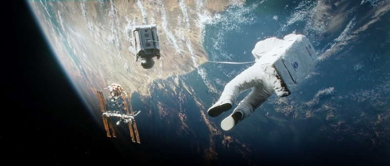 "Image du film ""Gravity"" - Octobre 2013"