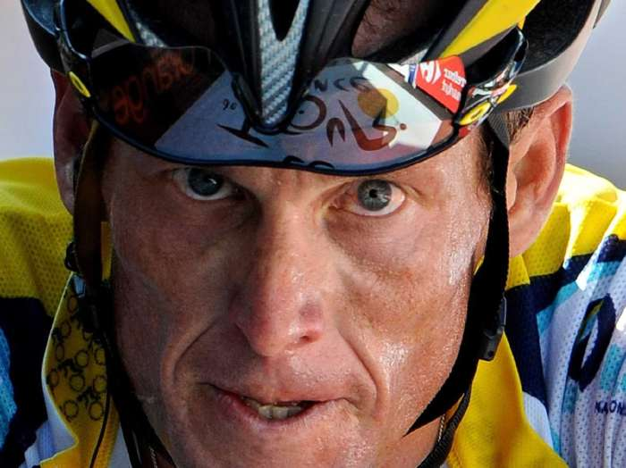Lance Armstrong...