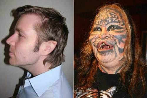 Dennis Avner: avant et après!