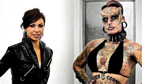 Maria Jose Cristerna avant et après!