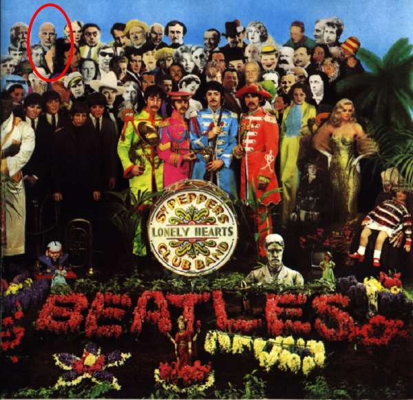 Couverture de l'album Sergent Peppers des Beatles