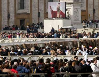 Obsèques de Jean-Paul II le 8 Avril 2005