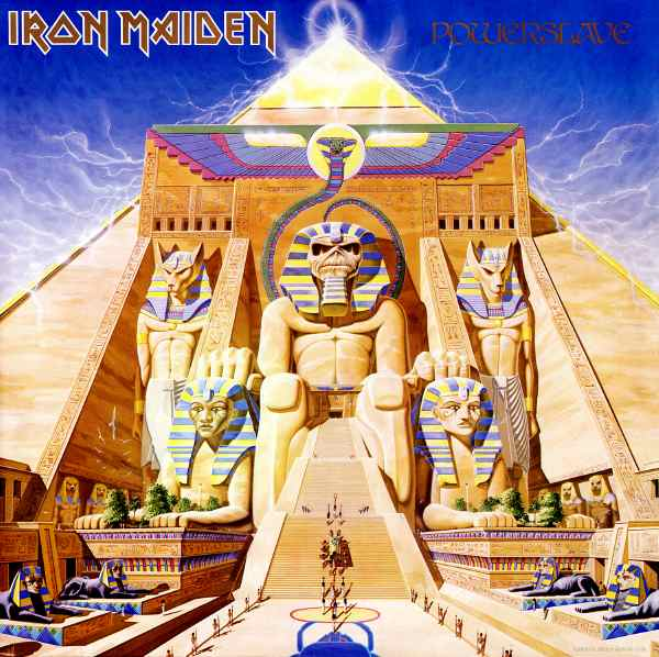 Powerslave par Iron Maiden