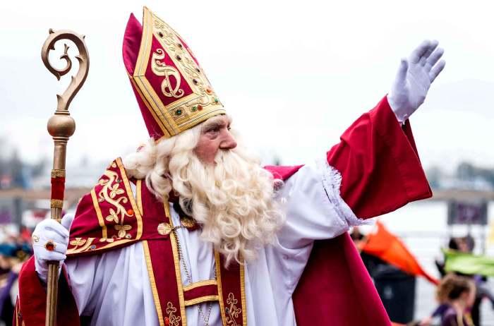 Acteur jouanat St Nicolas à Anvers en Belgique
