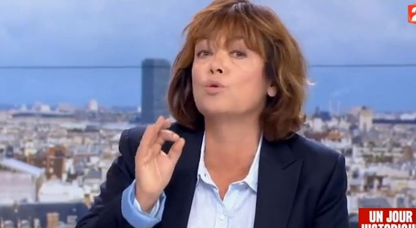 Nathalie Saint-Cricq sur France 2 face à Elise Lucet