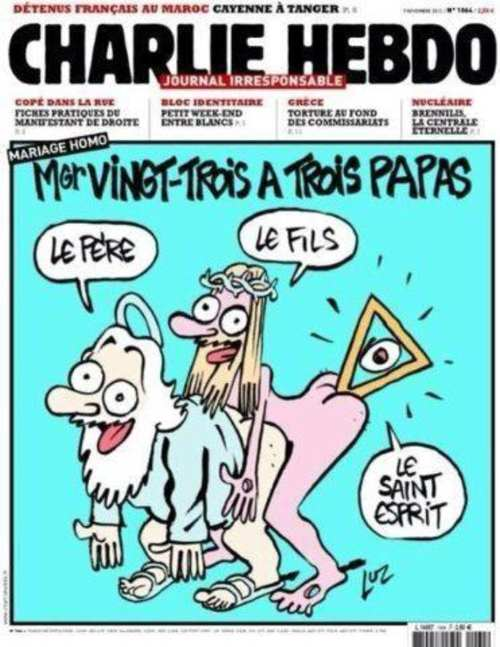 Couverture de Charlie Hebdo