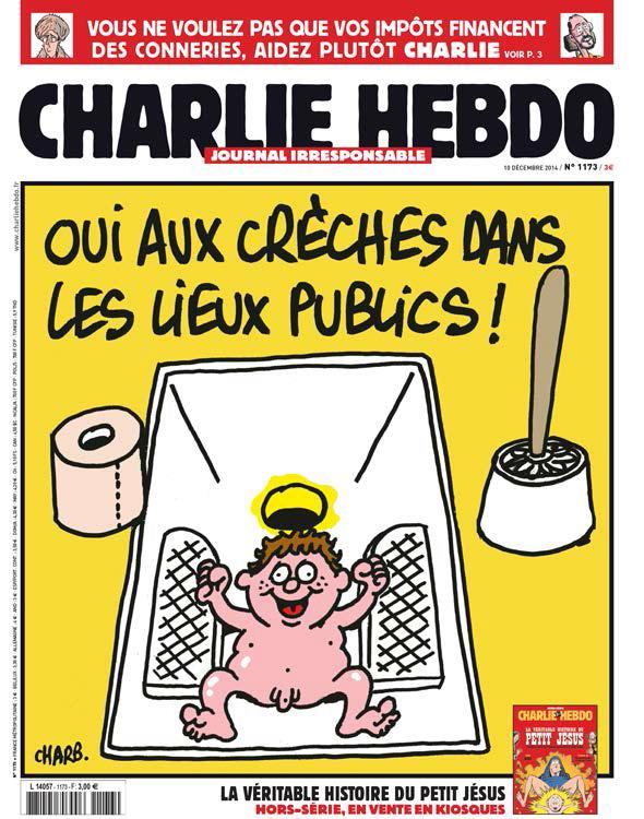 Couverture du Charlie Hebdo n°1173