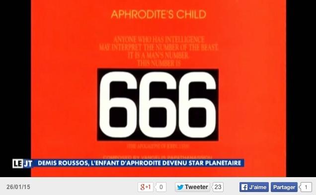 Capture d'écran Canal+ - Le journal de 18:45 le Lundi 26/01/2015