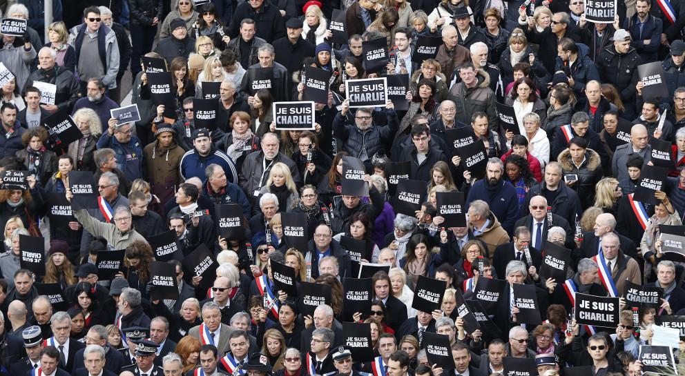 Grande Marche à Paris du 11 Janvier 2015