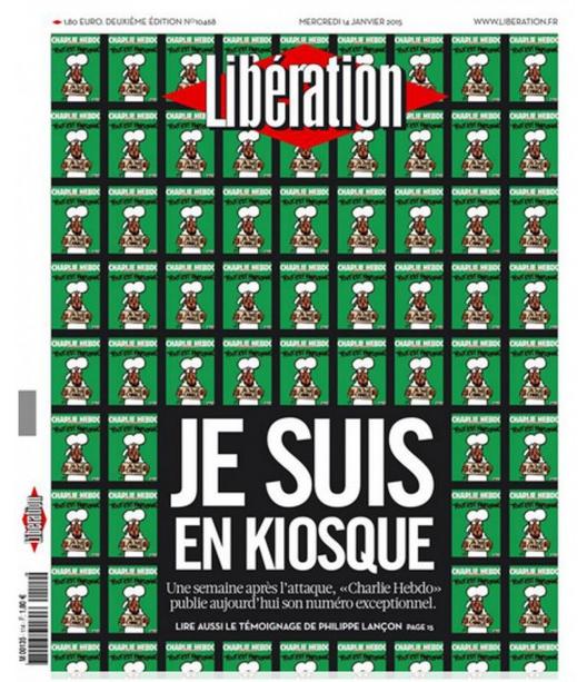 Une de Libération