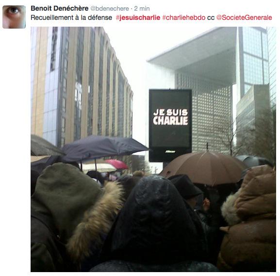 Manifestation Charlie Hebdo à Paris
