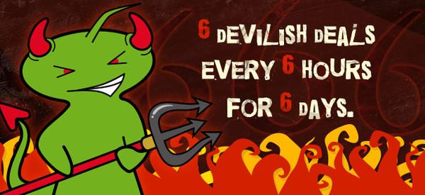 6 choix diaboliques toutes les 6 heures pendant 6 jours