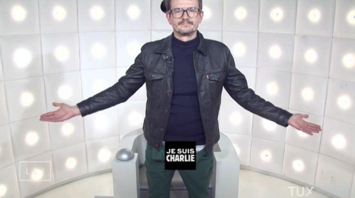 Luz à la Boite à questions du Grand Journal sur Canal+ le 2 Mars 2015