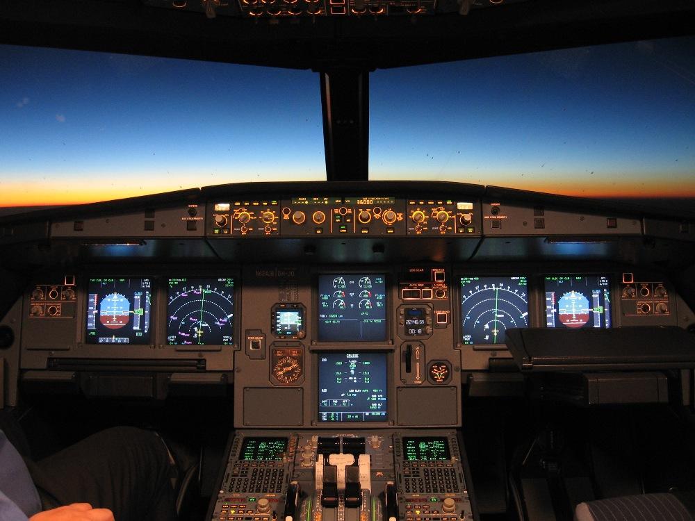 cockpit d'A320