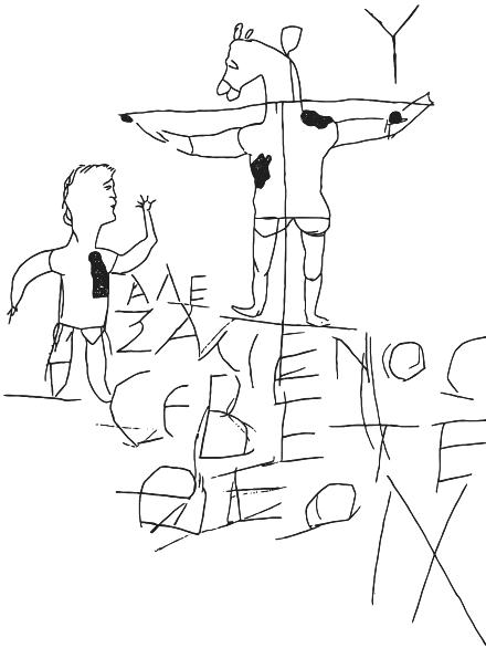 Graffiti d'Alexamenos