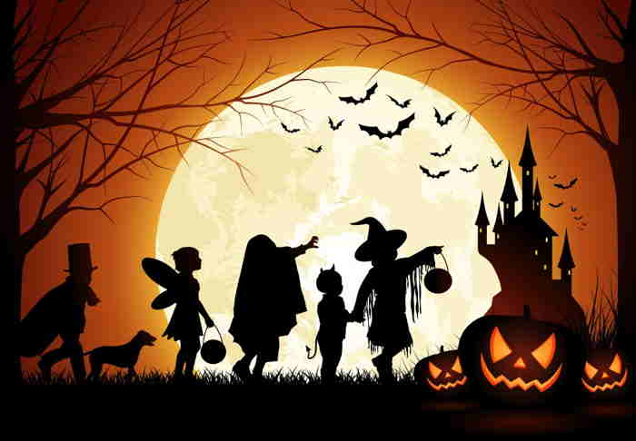 Illustration typique Halloween