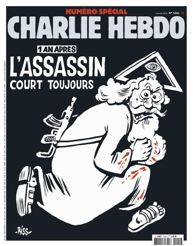 couverture du Charlie Hebdo n°1224