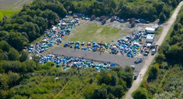 Camp de migrants de Grande Synthe