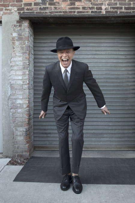 Dernières photos de David Bowie...