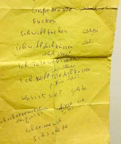 notes manuscrites (traduites en Anglais en cliquant sur l'image)