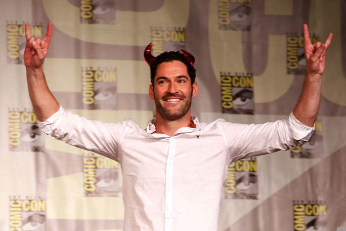 Tom Ellis alias Lucifer sur Fox