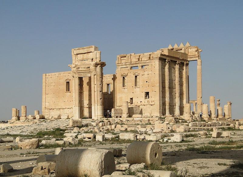 temple dédié à Baal à Palmyre