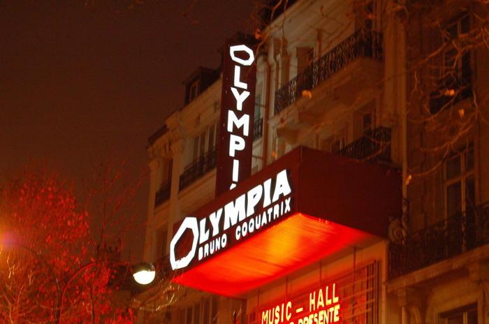 L'Olympia du temps de Bruno Coquatrix, à Paris