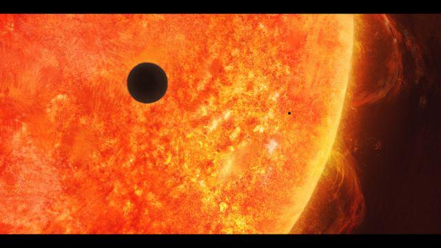 Transit de Mercure devant le soleil le 9 Mai 2016