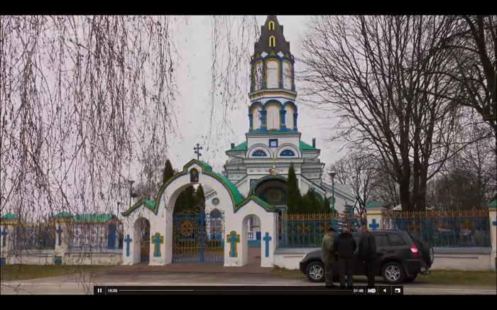— Capture d'écran Documentaire Tchernobyl sur Arte — 23 Avril 2016 — Eglise St Elie —