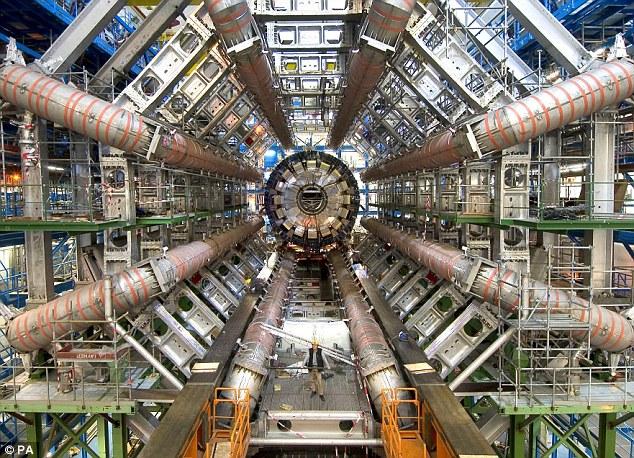 LHC sur ls site du CERN