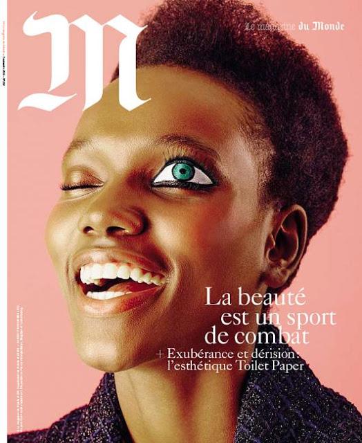Couverture du magazine du Monde