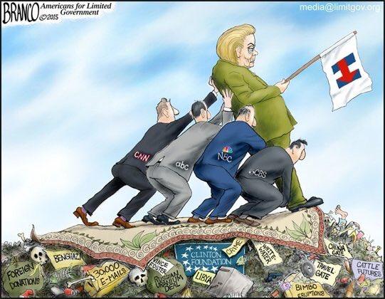 Hillary et la corruption rattachée au nom Clinton