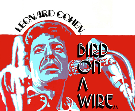 """Bird on a wire"" de Léonard Cohen"