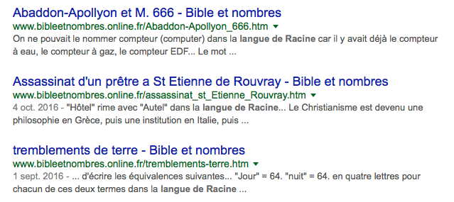 """""""la langue de Racine"""""""
