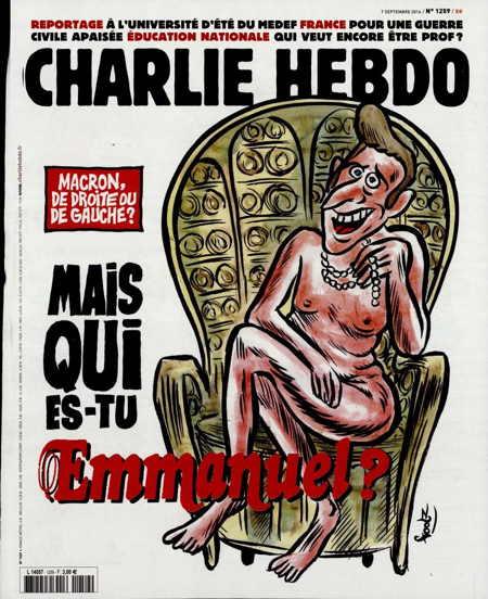 Un nouveau président… et maintenant ?  Macron_Charlie-Hebdo_s