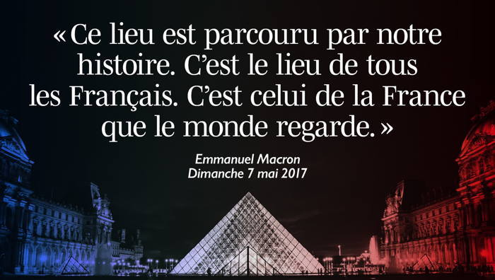 Message Tweeter d'E. Macron