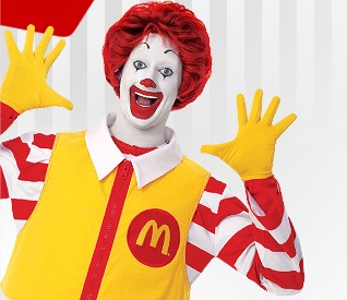 Le clown Ronald