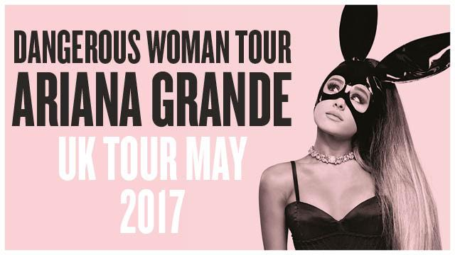 """Dangerous Woman Tour"" d'Ariana Grande"