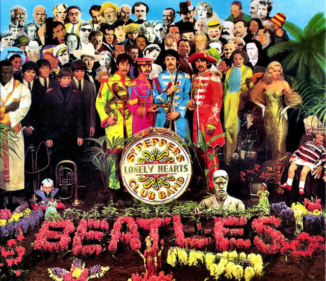 "Sgt Pepper Club Band ""Lonely Hearts"" des Beatles"