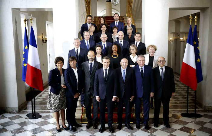 Photo gouvernement Mai 2017